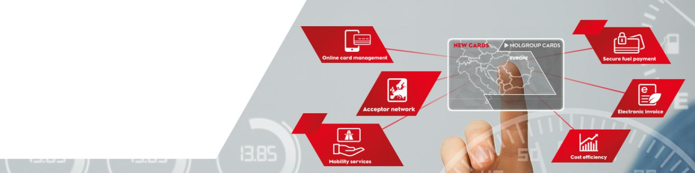 Mol Group Cards Homepage